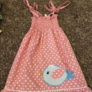 3t StellyBelly Bird Dress. EUC